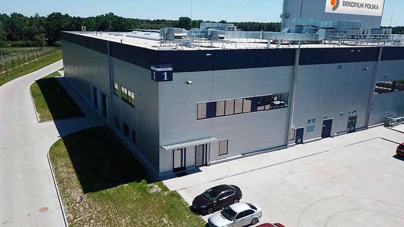 Новый завод по производству термоусадочных упаковочных пленок