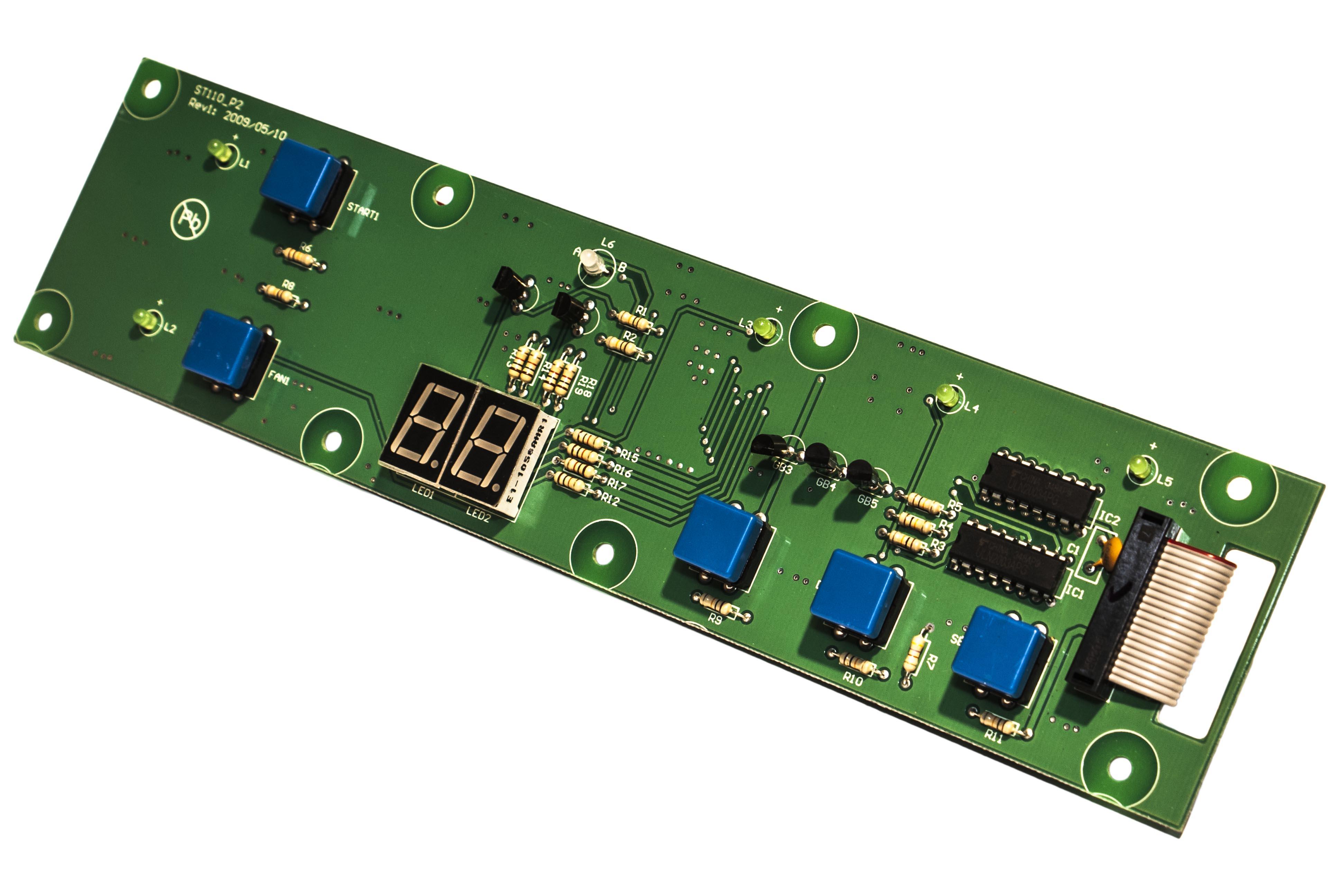 Плата пульта управления PC-FP-70SB02 (PC-FP-70SB01)