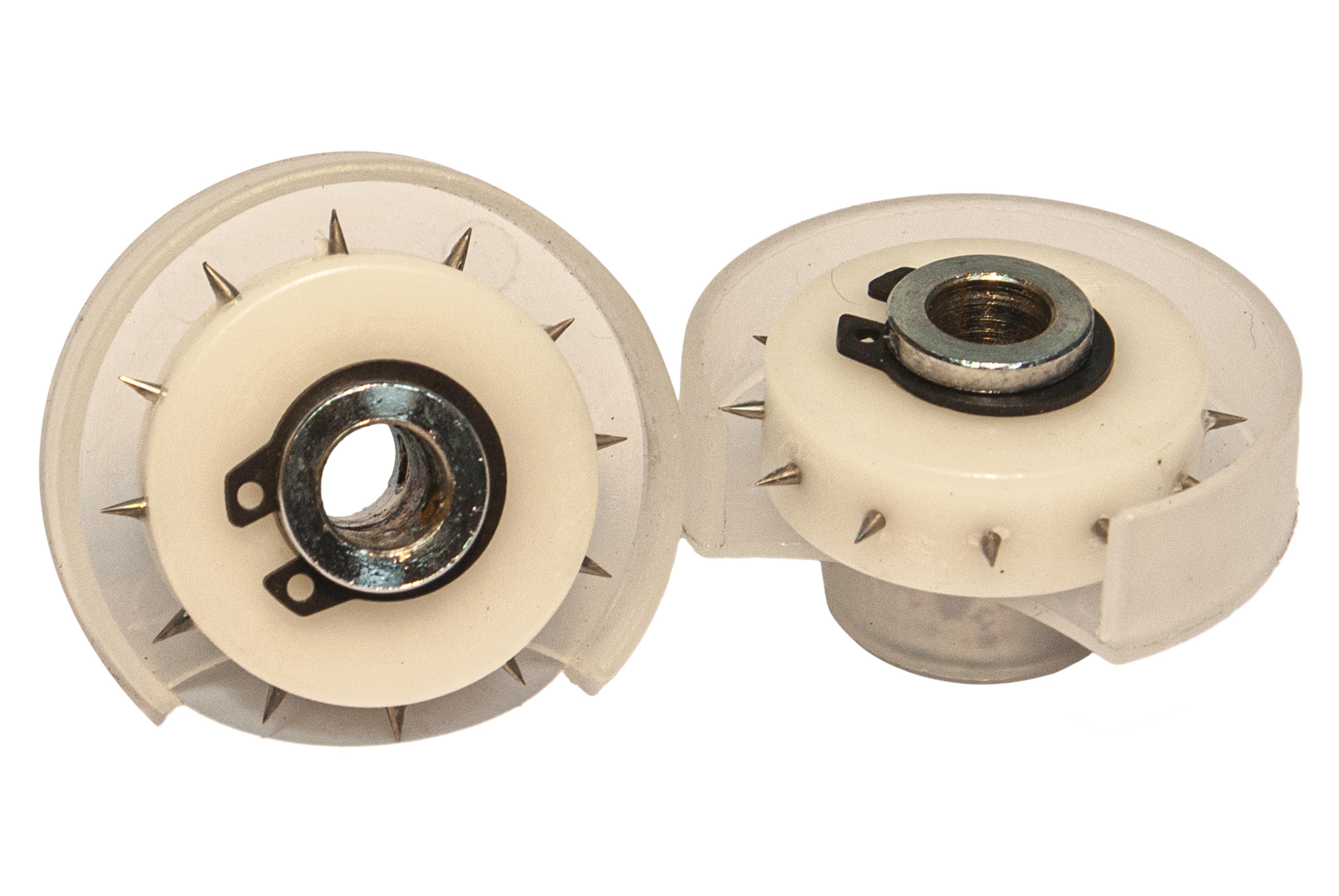 Click pulley - ролик перфорирующий, ролик игольчатый